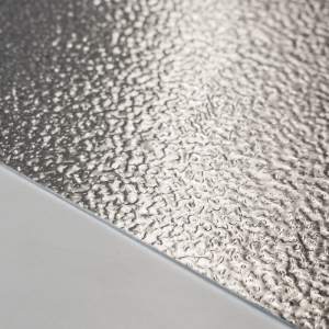Aluminium stucco plaat